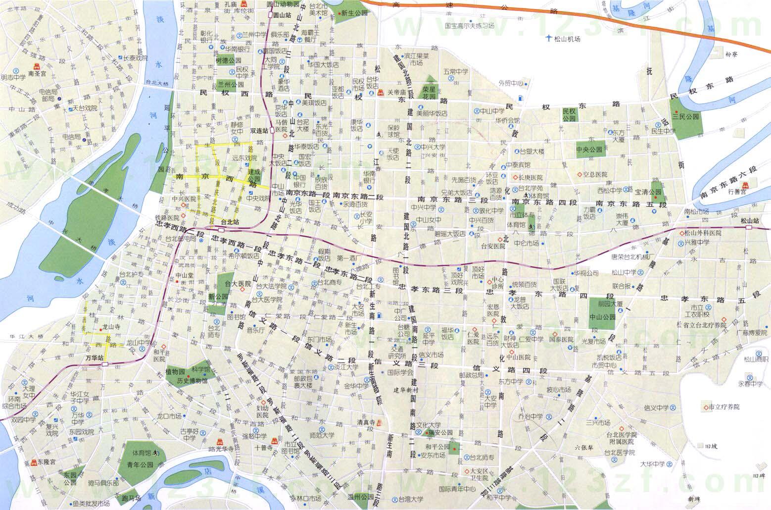 台北地图查看